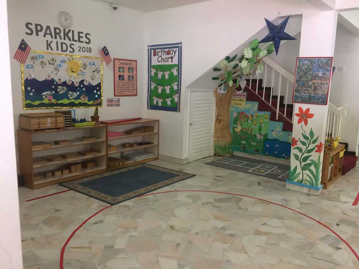 Montessori Sri Hartamas Spaces