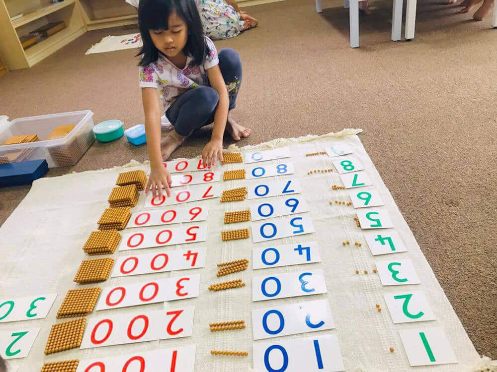 montessori TTDI math
